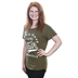 Jordan Feliz, Gotta Have Faith, Women's Dolman Sleeved T-Shirt, Green, Small