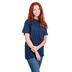 Cherished Girl, Psalm 104:1 How Great Thou Art, Women's Short Sleeved T-Shirt, Navy, Small