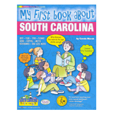 Gallopade, My First Book About South Carolina, Paperback, 32 Pages, Grades K-3