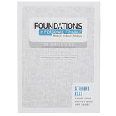 Foundations in Personal Finance: Middle School, Homeschool, Student Book, by Dave Ramsey, Grades 6-9
