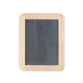 Double-Sided Slate Chalkboard, 4 inches x 6 inches, Black