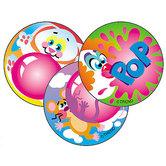 TREND enterprises Inc., Blowing Bubbles (Bubble Gum) Stinky Stickers, Multi-Colored, Pack of 60