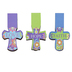 Brother Sister Design Studio, Faith Hope Love Joy Cross Magnetic Bookmarks, 1 Each of 6 Designs