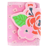 Stephen Joseph, Floral Bi-Fold Wallet, Ages 3 to 6 Years Old, 7 x 4 1/2 inches