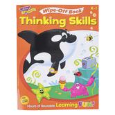 TREND, Thinking Skills Wipe-Off Book, 28 Pages, Grades PreK-K