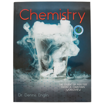 Master Books, Chemistry The Study of Matter from a Christian Worldview, Paperback, Grades 10-12