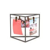 Green Tree Gallery, Triangle Clothesline Clip Frame, Metal, for 4 x 6 inch photos