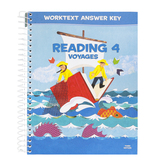 BJU Press, Reading 4 Student Worktext Answer Key, 3rd Edition, Paperback, Grade 4