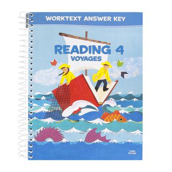 BJU Press, Reading 4 Student Worktext Answer Key, 3rd Edition, Paperback, Grade 4