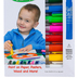 The Pencil Grip, Kwik Stix Thin Stix Solid Tempera Paint, Non-Toxic, Multi-Colored, Set of 12