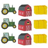 Creative Teaching Press, Farm Friends Farm Fun Large Cut-Outs, 6 Inches, 36 Pieces