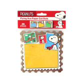 Eureka, Peanuts Flying Ace Paper Cut Outs, Pack of 36