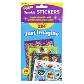 TREND enterprises, Inc., Just Imagine Sparkle Stickers® Variety Pack, 234 Stickers