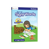 Preschool Prep Company, Meet the Sight Words Workbook, Levels 1-3, 104 Pages, Grades PreK-1