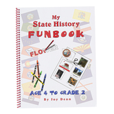 A Helping Hand, My State History Funbook Virginia Set, Grades PreK-2