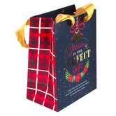 Renewing Faith, James 1:7 Jesus Is The Perfect Gift Christmas Gift Bag, Multiple Sizes Available
