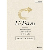 U-Turns Bible Study Book, by Tony Evans, Paperback
