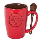 Always Know Mug With Spoon