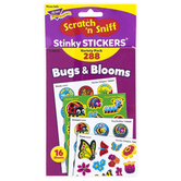 TREND enterprises, Inc., Bugs and Blooms Scratch 'n Sniff Stinky Stickers® Variety Pack, 288 Stickers