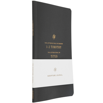 ESV Scripture Journal: 1-2 Timothy and Titus, Paperback, Black