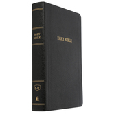 KJV Reference Bible, Personal Size, Giant Print, Bonded Leather, Multiple Colors Available