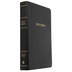 KJV Reference Bible, Personal Size, Giant Print, Bonded Leather, Black