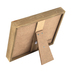 Green Tree Gallery, Buffalo Check Photo Clip Frame, MDF, Holds 6 x 4 inch Photo, 8 x 9 1/2 inches