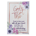 Renewing Faith, Proverbs 3:5 Gods Got This Pass Along Cards, 2 x 3 inches, Set of 10