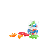 Learning Resources, Snap-n-Learn Alphabet Alligators, Ages 2 Years and Older, 26 Pieces