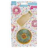 Handstand Kitchen, Donut Shoppe Cookie Cutter Set, 2 Pieces, Ages 6 & Older