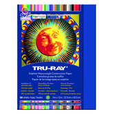 Tru-Ray® Sulphite Construction Paper, 9 x 12 inches, Royal Blue, 50 Sheets