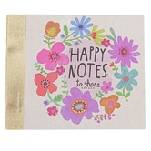 Natural Life, Happy Notes, Paper, 3 x 3 x 1/2 inches, 87 Sheets