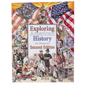 Christian Liberty Press, Exploring American History Student Text, 2nd Ed, Paperback, 266 Pages, Grade 4