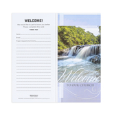 Broadman & Holman, Welcome To Our Church Guest Cards, Set of 50