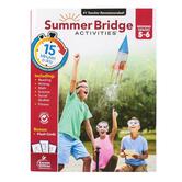 Carson-Dellosa, Summer Bridge Activities Workbook, Paperback, 160 Pages, Grades 5–6