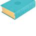 ESV Study Bible, Personal Size, TruTone, Turquoise, Emblem Design