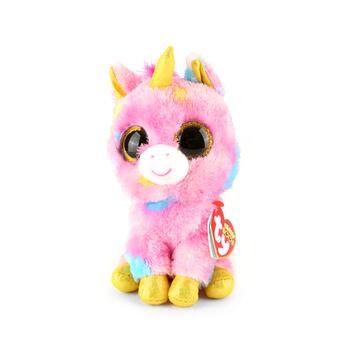 Ty, Beanie Boos, Fantasia the Unicorn, Multicolor, 6 inches
