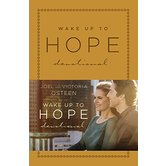 Wake Up to Hope: Devotional, by Joel Osteen and Victoria Osteen, Imitation Leather
