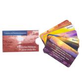CTA, Inc., Promesas Biblicas Para Cada Dia Spanish Bible Promise Cards, 3 1/2 x 2 inches, Set of 7
