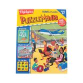Highlights Puzzlemania Travel Puzzles Activity Book, Grades 1-4