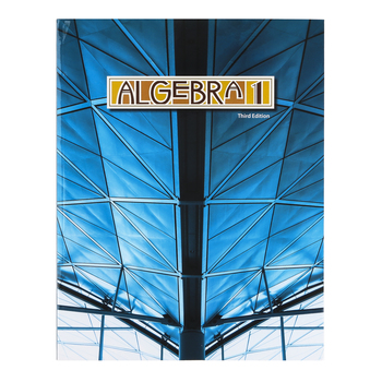 BJU Press, Algebra 1 Student Text, 3rd Edition, Paperback, Grade 9