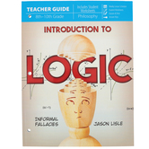 Master Books, Introduction to Logic Teacher Guide, Dr. Jason Lisle, Paperback, Grades 8-10
