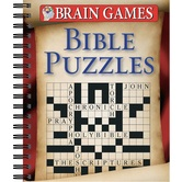 Brain Games Bible Puzzles, by Publications International Ltd., Spiral Bound