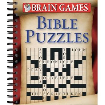 Brain Games Bible Puzzles, by Publications International Ltd., Spiral Bound