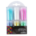 Tree House Studio, Pastels and Holographic Mix Glitter Pack, Assorted Colors, 6 Count