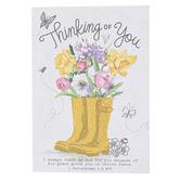 ThreeRoses, 1 Corinthians 1:4 Thinking of You Note Cards & Envelopes, 8 Cards & Envelopes
