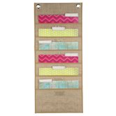 Renewing Minds, Filetastic Organization Center, Burlap, 14 x 32 Inches, 1 Piece
