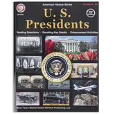 Carson-Dellosa, U.S. Presidents Workbook, 128 Pages, Grades 5-12