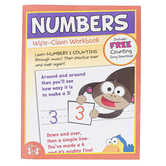 Twin Sisters, Numbers Wipe Clean Activity Book, Paperback, Grades Pre K-1