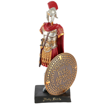Dicksons, Ephesians 6:14-17 Armor of God Figure, Resin, 9 inches